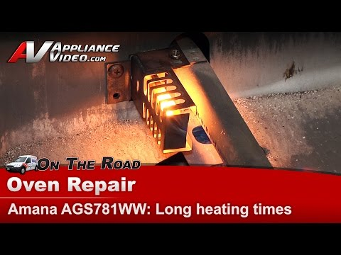 amana-&-whirlpool-oven-ignitor---taking-to-long-to-heat-&-has-a-natural-gas-odor---ags781ww