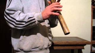 Limba F minor Native american style flute