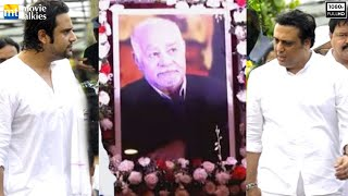 UNCUT Krushna Abhishek Father (Govinda's Brother In Law's) Funeral Ceremony 2016