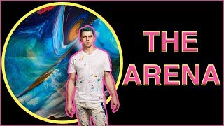 """THE ARENA"" – Callen Schaub Spin Painting – Vlog Episode #32"