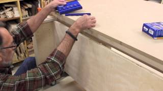 The Down To Earth Woodworker - Sawstop Outfeed Table Part 5