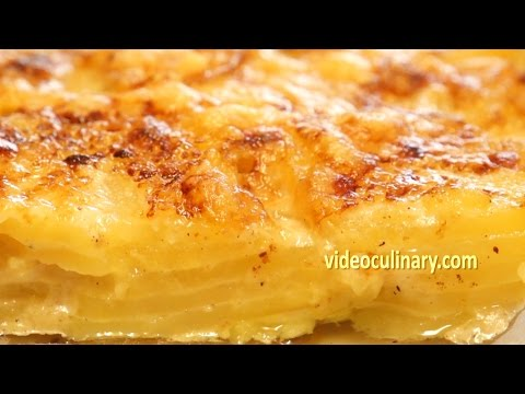 Potato Gratin - Classic French Recipe - Video Culinary