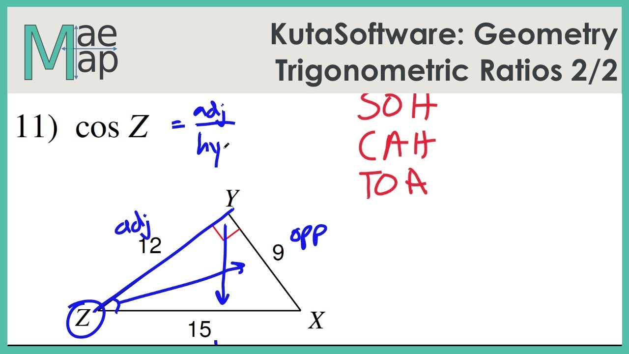 Geometry Trigonometric Ratios Part 2