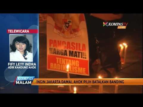 Ingin Jakarta Damai, Ahok Pilih Batalkan Banding