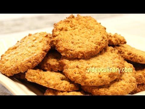 Healthy Oatmeal Cookies - Gluten Free Recipe