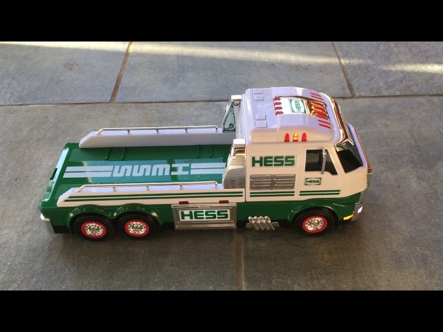 2016 Hess Toy Truck and Dragster | Words on the Goods
