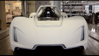 First 3D Printed Supercar - A New Way To Build Cars