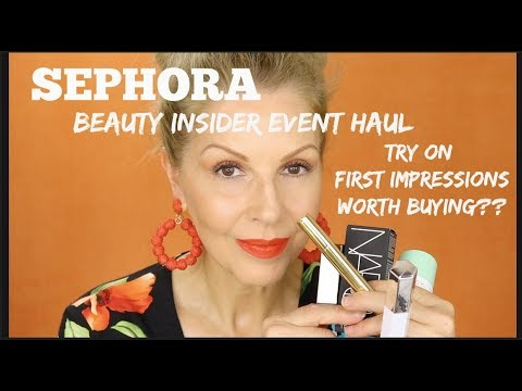 sephora-haul-try-on-|-first-impressions-|-lots-of-chit-chat!