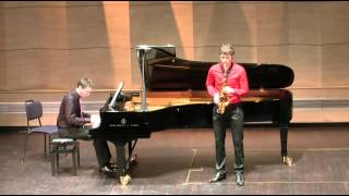 concerto for alto saxophone part 2 romance comp ronald binge by luuk meeuwis