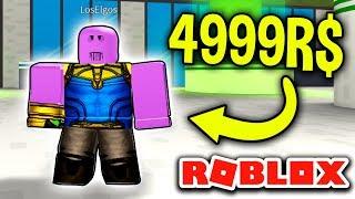 💪 Thanos 4999 Robux 💪 - Roblox: Superhero Simulator EP2