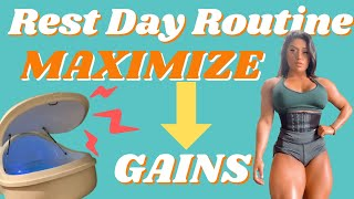 MY RECOVERY ROUTINE: IMPORTANCE OF REST DAYS FOR MUSCLE GROWTH ep.16
