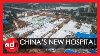 First Look Inside the New Coronavirus Hospital in Wuhan