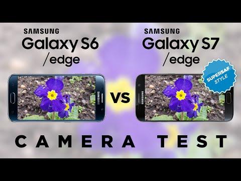 Samsung Galaxy S7 vs Samsung Galaxy S6 Camera Test Comparison