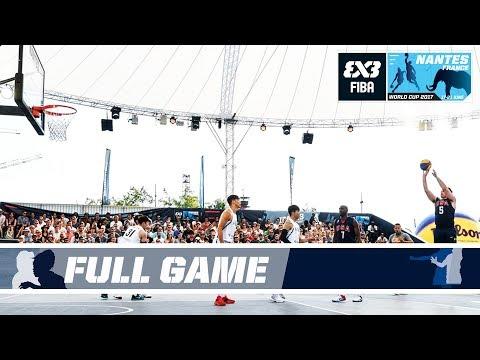 USA outclass South Korea - FIBA 3x3 World Cup 2017