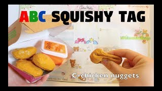 ABC Squishy tag w/homemade squishies #2