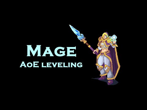 WoW Vanilla: Mage AoE leveling clips (OUTDATED!)