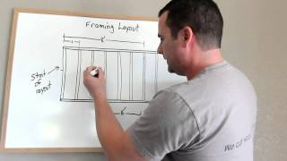 Framing Tip and an Introduction to Stud Layout