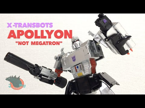 X-Transbots Apollyon NOT Megatron Review