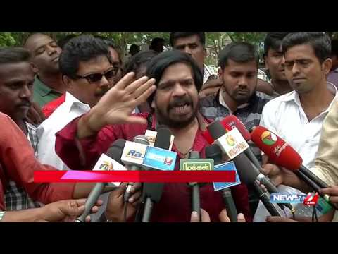 T Rajendar warns Karnataka people over ongoing Cauvery issue | News7 Tamil