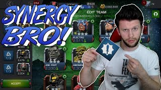 Does the Attack Synergy Make a Difference? - Synergy BRO! - New Series! [MCOC]