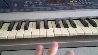 Обучение игре на фортепиано (синтезаторе)- Гаммы