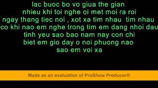 karaoke _ xin mot lan thu tha _ lam hung