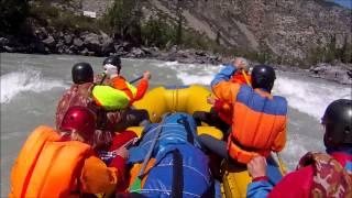 Сплав Чуя-Катунь 26-29 июля 2015(Активное водное трехдневное путешествие от порога