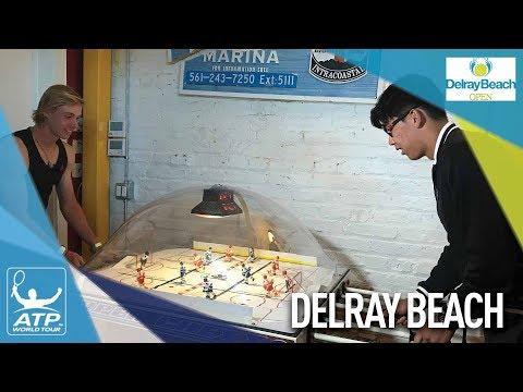 Shapovalov, Chung Take Their Rivalry To The Arcades Delray Beach 2018