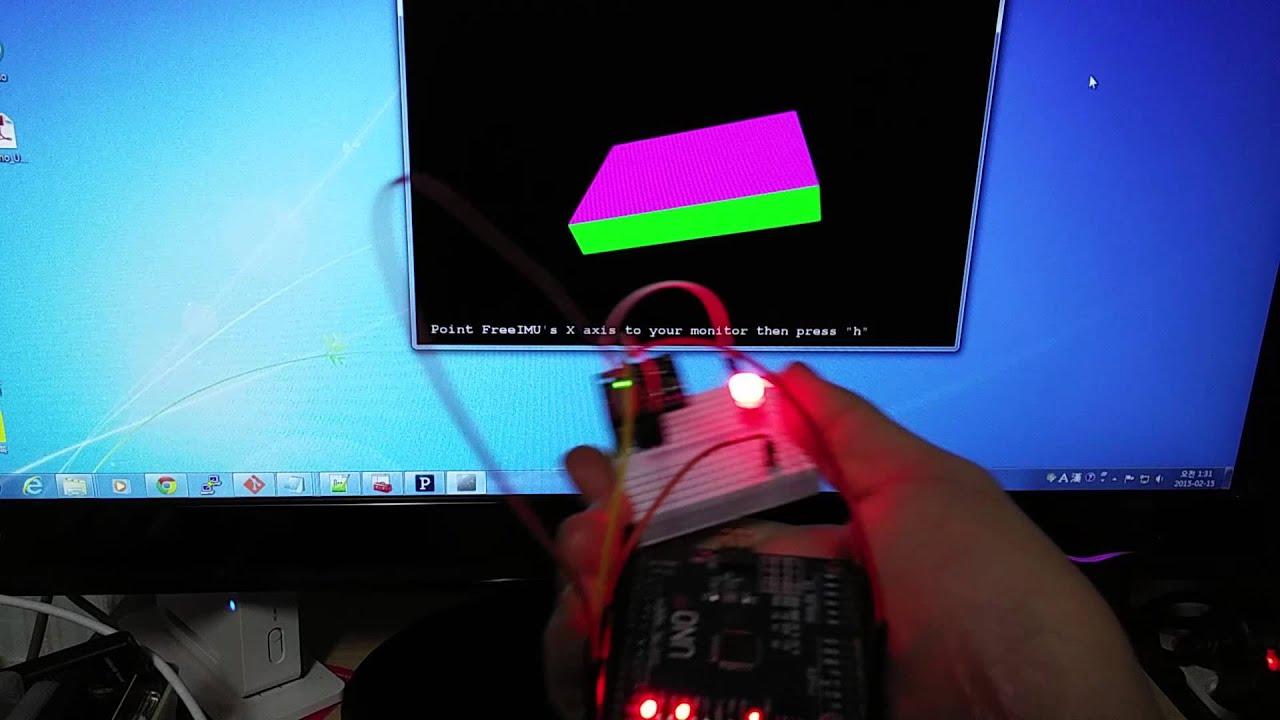 Test FreeIMU with Arduino + GY-86