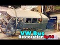 VW Bus Restoration - Episode 16 - Rotisserie Time! | MicBergsma