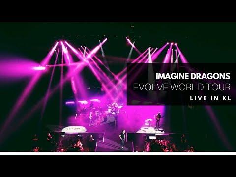 Imagine Dragons Evolve World Tour 2018 -- Malaysia