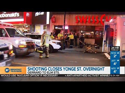 Suspect sought after shooting at Toronto karaoke bar