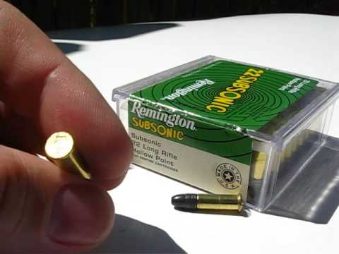 at1 22 lr remington subsonic 38 gr hp