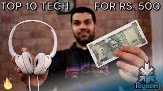 Video Top 10 Tech For Rs. 500 - Budget Festive Shopping List 2 download MP3, 3GP, MP4, WEBM, AVI, FLV Maret 2018