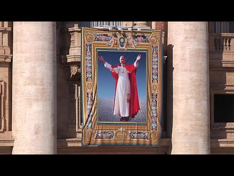 Pope Francis to canonize Paul VI in October