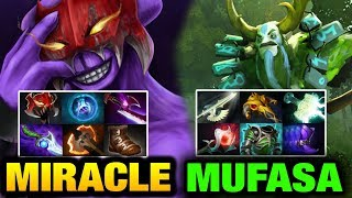 Miracle- [Faceless Void] vs Mufasa [Nature's Prophet] Try Hard Dota 2