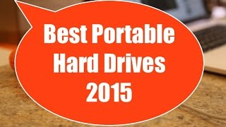 Best Portable Hard Drives 2015 - Full Review