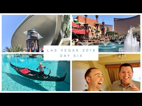 Las Vegas Vlog - March 2018 - Day 6 - Fashion Show Mall, Venetian, Mirage and checking into Luxor
