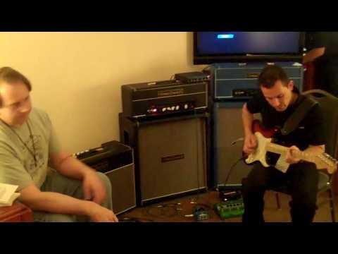 Austin Amp Show, Tomaszewicz TZZ-35H Amp Demo 1 - Billy Penn 300guitars.com