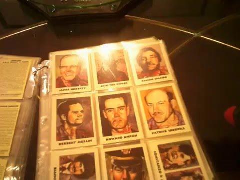 True Crime Trading Cards Series G-Men Gangsters / Serial Killes