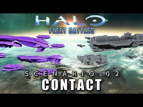 Fleet Battles - Scenario 2: Contact (aka SPACE COOKIES!!!)