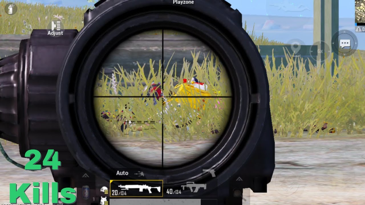 He thought we couldn't see him & we did this!!   PUBG MOBILE