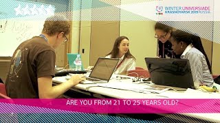 Young Reporter Programme at the Winter Universiade 2019