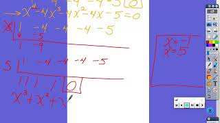 1-8 Finding all the solutions of polynomials with all methods