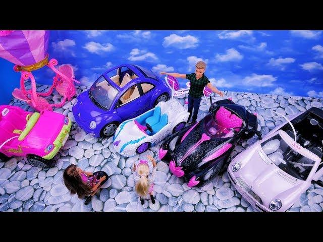 Barbie kupuje nowy samochód