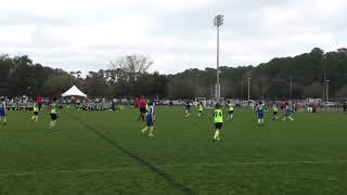 U12 - Tottenham Tournament Game 3 - T-B-E-B