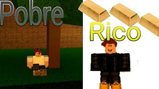 The poor boy who got rich | ROBLOX-(Work at Pizza Place)