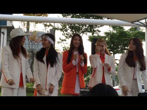 150606 디아크 The Ark Yuna & Minju - Good Bye Rain [ Fancam ]