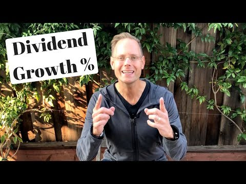 Dividend Growth Rates: My Experience and Expectation