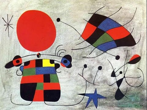 Joan Miro. Brief biography and paintings. great for kids and esl.